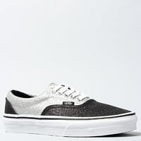 The Era Sneaker in Black and Silver Glitter