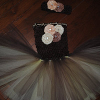 Newborn First Pictures Tutu Dress