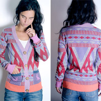 Techno Primitive Jacquard Sweater (XS-L)