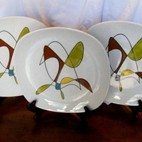 Vintage Dinnerware by Metlox Poppytrail Free by GSArcheologist