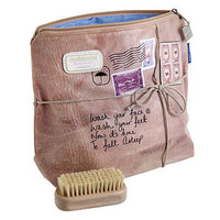 'wash your face' wash bag by kiki's | notonthehighstreet.com