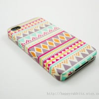 Aztec Geometric  iPhone 4 Case, iPhone 4s Case, iPhone 4 Cover, Hard iPhone 4 Case