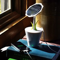 Solar Sunflower Charger