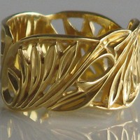 resereved itemFields of Gold14 karat white gold by nuritdesign
