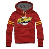 Big Bang Theory Comic Lightning Bolts Hoodie - Ripple Junction - Big Bang Theory - Sweatshirts at Entertainment Earth