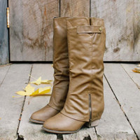 Indian Creek Cuffed Boots, Rugged Boots & Shoes