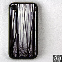 Mysterious forest iPhone 4 and iPhone 4S Case,Rubber Material Full Protection