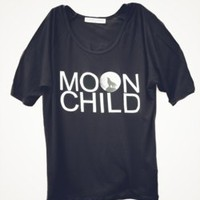 MOON CHILD TEE — HIGH HEELS SUICIDE