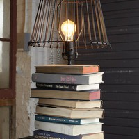 Home - Living Room / Stacked-Books Table Lamp : Decorating : Home &amp; Garden Television