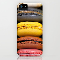 French Patisserie Macaroons iPhone Case by PetekDesign | Society6