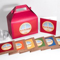 Children&#x27;s Earth Paint Kit