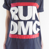 Run Dmc T-Shirt -- Run Dmc Shirt Rapper Tee Shirt R&B Hip Hop T-Shirt Unisex T-Shirt Women T-Shirt Men T-Shirt Black T-Shirt Size L