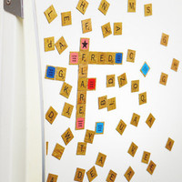 Scrabble Refrigerator Magnet Set