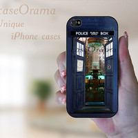 TARDIS from Inside Doctor Who iPhone 5 hard case, iPhone 5 case, iPhone 5 cover, iPhone hard case