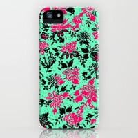 Vintage Wallpaper iPhone Case by Mad Dope | Society6