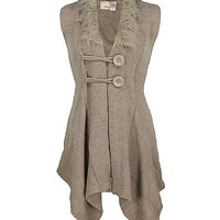 Daytrip Double Button Sweater Vest - Women's Sweaters | Buckle