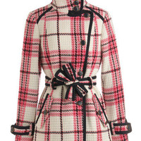 Plaid-ison Avenue Coat | Mod Retro Vintage Coats | ModCloth.com