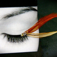 Whimsical Fairy Feather False Eyelashes