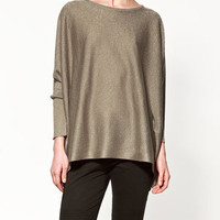 SHIMMER SWEATER - Collection - Knitwear - Collection - Woman - ZARA Norway