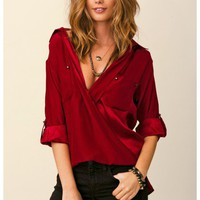 Line & Dot - Silk Blouse