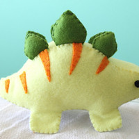 Patterns: Stegosaurus Dinosaur Plush