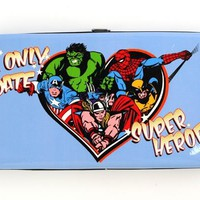 I Only Date Superheroes - Hinge Wallet