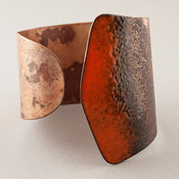Sibilia Victoria Cuff Bracelet - Red | Rain Collection
