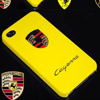 Apple iPhone 4 Cayenne Porsche Ferrari Skin Cover