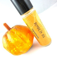 Pumpkin Pie Perfume Oil - Pumpkin, Nutmeg, Vanilla - Fall Favorite