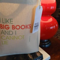 I Like Big Books And I Cannot Lie - Small Gift Tote Bag - FREE SHIPPING