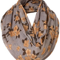 Grey Cluster Floral Snood - New In This Week - New In - Topshop USA
