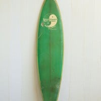 Free People Vintage Town & Country Surfboard