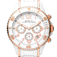MARC BY MARC JACOBS 'Rock' Ceramic Chronograph Watch | Nordstrom