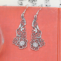 winged glory earrings in silver - $9.99 : ShopRuche.com, Vintage Inspired Clothing, Affordable Clothes, Eco friendly Fashion