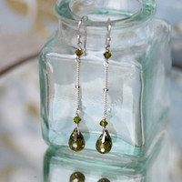 sweet midori cubic zirconia indie drop earrings - $26.99 : ShopRuche.com, Vintage Inspired Clothing, Affordable Clothes, Eco friendly Fashion