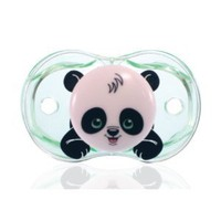 Amazon.com: RaZbaby Keep-It-Kleen Pacifier, Panky Panda: Baby