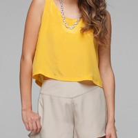 The Goldie Crop Top