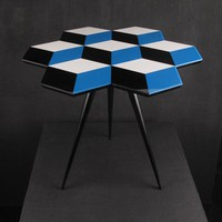 Rockman &amp; Rockman Side Table - CUBE 7 - Darkroom