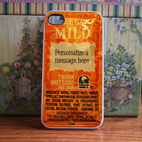 Taco bell packet personalized - iPhone 4S and iPhone 4 Case Cover