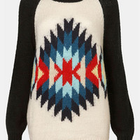 Topshop 'Eye Dazzler' Sweater | Nordstrom