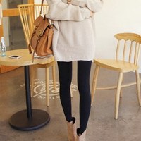 Oversize Boyfriend Jumper - beige