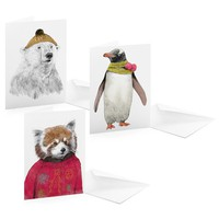 Street Market — Christmas Cards by Jamie Mitchell