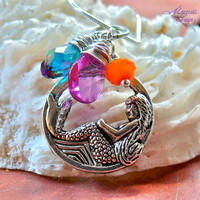 Mermaid Necklace made in Hawaii - Hawaiian jewelry inspired by the sea