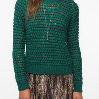Renn Bobble Textured Pullover Sweater
