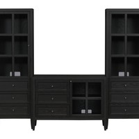 "Westmore 42"" Media Console with 2 Towers in Media Centers 