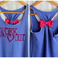 Workout Clothes WORK Your Heart OUT on Luulla