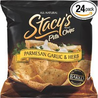Stacy's Pita Chips, Parmesan Garlic & Herb, 1.5-Ounce Bags (Pack of 24): Amazon.com: Grocery & Gourmet Food