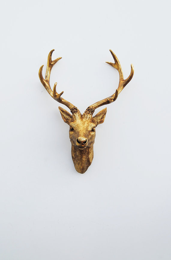 Faux Deer Head Faux Taxidermy The From