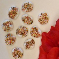 Vintage Confetti Beads