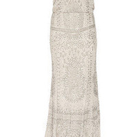 KAUFMANFRANCO|Embellished silk-chiffon gown|NET-A-PORTER.COM